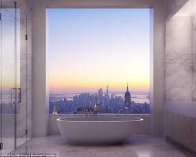纽约诞生西半球最新第一高楼 观景豪宅1亿起售