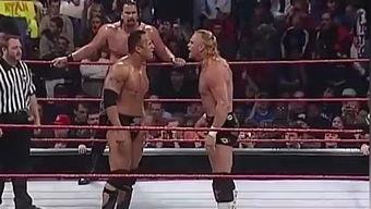 WWE巨石强森单挑黑羊第二场 WWE2K17比赛