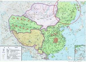 唐朝疆域辽阔,人口却不及汉隋两朝,盛唐繁荣对人口如何  唐朝前期疆域范围