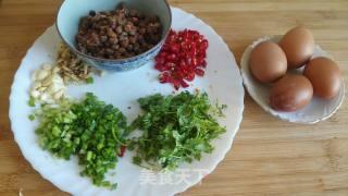 辣椒豆子炒鸡蛋