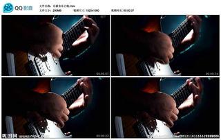 电子吉他怎么弹