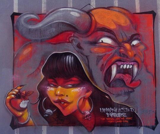 ErNaste Nassimo肖像插画和街头涂鸦艺术