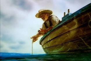 老人与海打不不败的老人好词好句