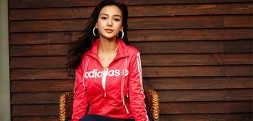 angelababy 同款女套装 adidas 女运动套装