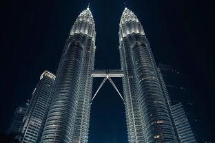 双子塔吉隆坡双子塔石油双塔吉隆坡地标地标建筑马来西亚