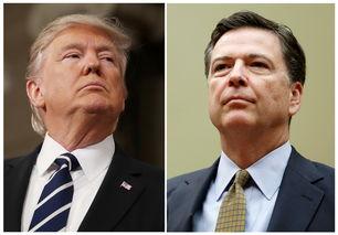 美国总统特朗普5月9日解除联邦调查局局长科米职务.