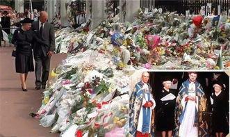 戴安娜不幸辞世,白金汉宫第一次升米字旗降半旗致哀,胜似国葬