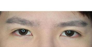 男生怎么化妆让眼睛大