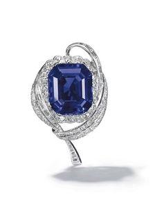 克什米尔蓝宝石及钻石戒指-即将被拍卖的举世珍宝