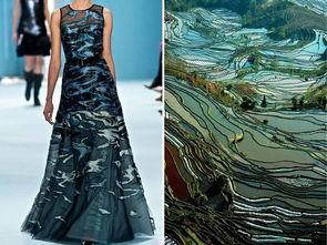 俄罗斯的一位小姑娘......把世界上的高端品牌设计灵感扒的一干二净