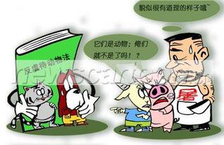 反虐待动物法草稿规定违法食用猫狗肉拘留15天