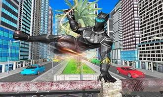 黑豹超级英雄城市复仇破解版下载,黑豹超级英雄城市复仇无限金币破解版 全查软件下载