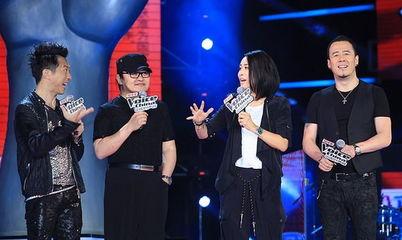 中国好声音四位导师