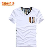 T恤 男短袖韩版男士短袖t恤潮男上衣服 运动套装