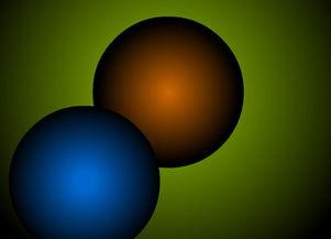 原子运动flash动画素材下载
