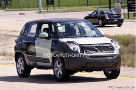 最新Jeep微型跨界车曝光 或将2015年亮相