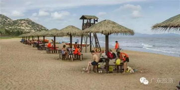 浪琴湾-沙如墨,浪如雪 南海自驾3小时,即到广东这2处神奇的黑沙滩