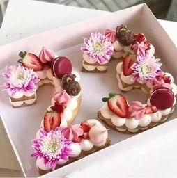 新晋网红 火爆的 数字蛋糕