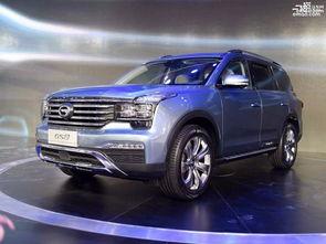 造型像GS8 广汽传祺GS6预计售15 20万内