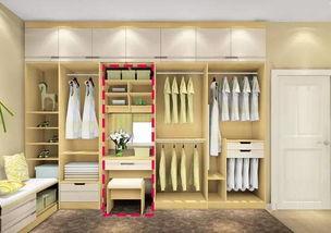 衣柜里面怎么设计好用吗