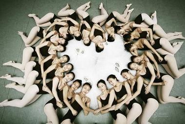 北京舞蹈学院毕业照极致唯美 女星芭蕾造型比拼