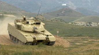 vt-4外贸坦克进行性能展示.