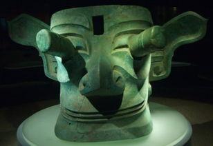 三星堆青铜人面具图片[摄影图,jpg]