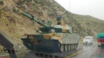 资料图:中国新型轻型坦克.(