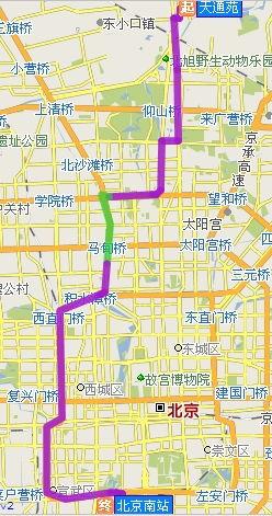 北京南站地图(北京南站在那)