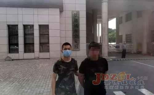 景市公安局刑警支队三天抓获二名涉外逃犯