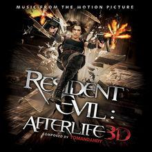 Tomandandy 生化危机4 来生 Resident Evil Afterlife 最新生化危机电影版原声 影视原声大碟 十月国庆进行曲