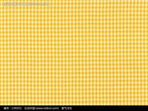 米黄色布纹贴图-黄色格子布纹图片