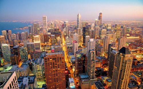 芝加哥 市区一日游 美国建筑典范城市