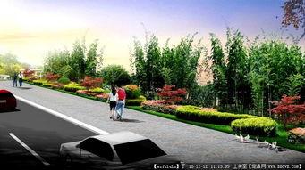 城市景观设计中的道路绿化具有哪些美化作用?