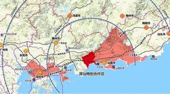 深汕特别合作区大动作 3年建成粤东新中心,GDP超150亿,城市人口25万