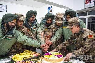 中印携手2018反恐联训迎来特殊时刻双方七名官兵共同度过生日