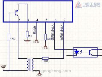 MA4810 开关电源芯片内部结构图及应用电路