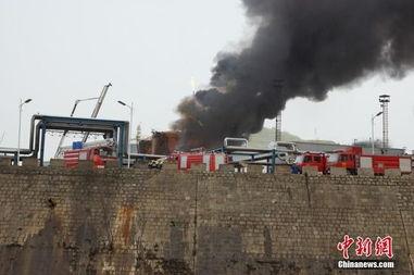 陕西延安一炼油厂发生闪爆事故 组图
