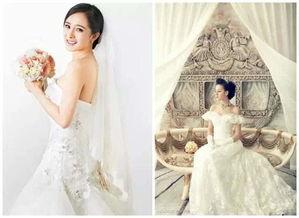 迪丽热巴vs杨幂,穿婚纱居然这么完美