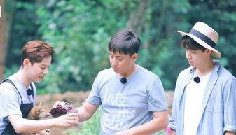 之后和何炅,黄磊参加《向往的生活》。