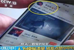 央视批评小鲜肉流量造假后,蔡徐坤粉丝团迎风而上,攻占微博热搜