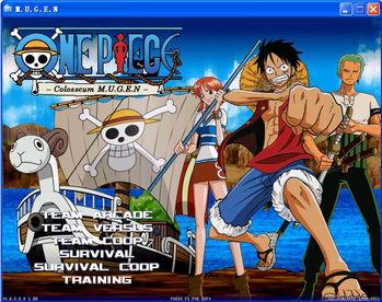 海贼王格斗游戏mugen One Piece Colosseum
