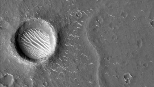 太清晰了天问一号这次传来的火星影像透露了啥秘密