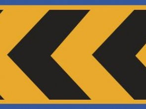 图中标志的含义是表示车辆向右行驶