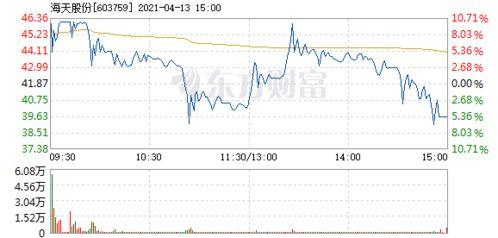 海天股份是什么公司的股票?