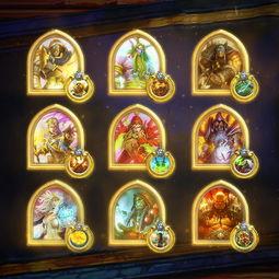炉石传说金色头像英雄即将到来500胜即可得