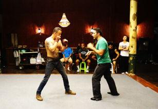 冠军的心 曼谷热拍 杨坤练习拳击大秀胸肌
