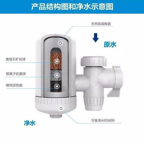 水龙头过滤器家用净水器厨房净水机自来水滤水器滤芯可拆洗好一生
