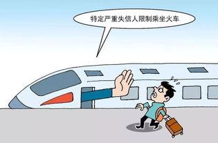 严重违法失信者限乘火车飞机