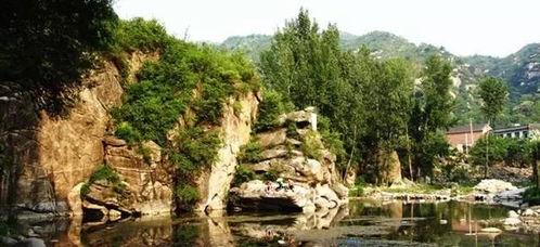 —神堂峪神堂峪自然风景区碧云天,黄叶地,秋色连波,波上寒烟翠。